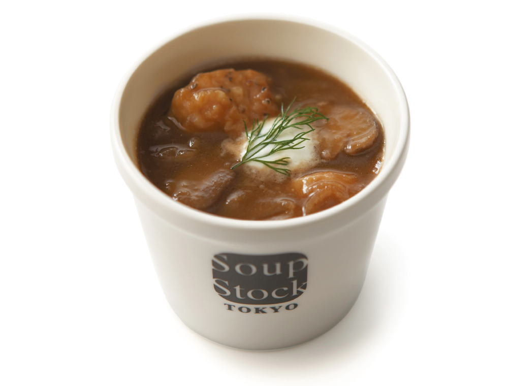 鶏肉と玉葱のスープ バルサミコ風味